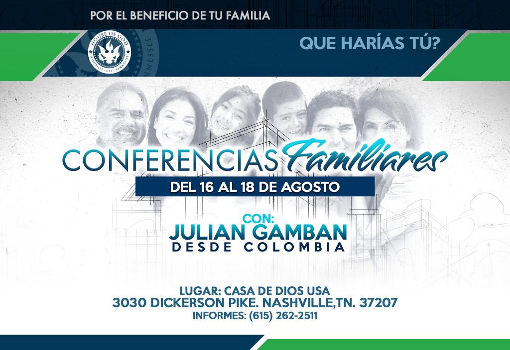 conferencias familiares 2019