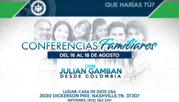 conferencias familiares 2019